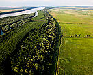 Kalimok marsh, Bulgaria. This Danube River Basin marsh has been reconnected with the river, creating spawning places in the once cut off wetlands.