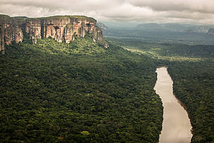 Colombia's Chiribiquete now world's largest tropical rainforest national park!