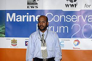 Presentation on coral reefs of the UAE at the Marine Conservation Forum (september 11 - 14, 2006, Abu Dhabi)