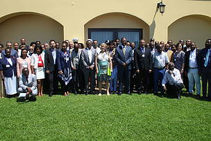 Group Photo in Maputo