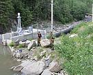 Constructions of small hydropower stations in Carpathians (Ukraine).