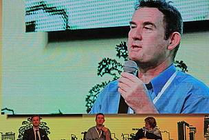 """Continuous improvement is a core design feature of the RSPO"": WWF Palm Oil lead Adam Harrison at RSPO 13"
