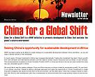 China for a Global Shift Newsletter (April- June 2010)