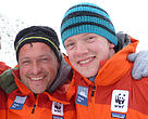Marc Cornelissen and Philip de Roo, Arctic researchers and longtime WWF supporters, went missing on April 30 2015 while surveying ice conditions in the Canadian Arctic.