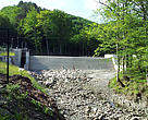 Mini hydropower in Carpathians (Ukraine).