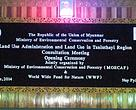 Meeting on land use in the Taninthayi region of Myanmar, 12 June 2014.