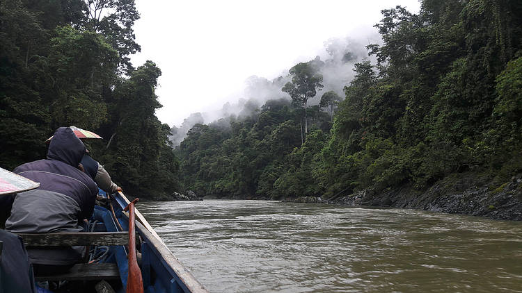 Exploring  the Two Biggest Rivers in North Kalimantan