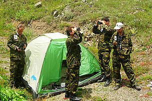 Monitoring Training for the Rangers at the Shikahogh State Reserve, Armenia