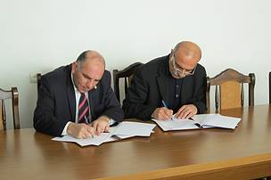 "Signing the Memorandum of Understanding between WWF Armenia and ""Hayantar"" SNCO"