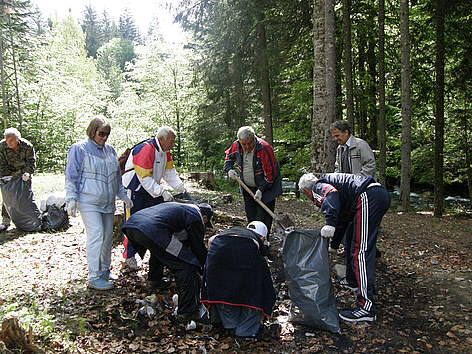 WWF's National Day of the Nature Parks, Rilski Manastir, Bulgaria, 23 May 2009 rel=