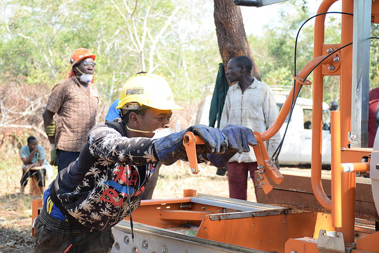 CERTIFIED SAWN TIMBER PRODUCTION HELP SAVE FOREST AND COMBAT POVERTY IN KILWA DISTRICT