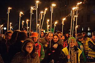 Earth Hour in Timişoara, Romania's Earth Hour Capital 2013.