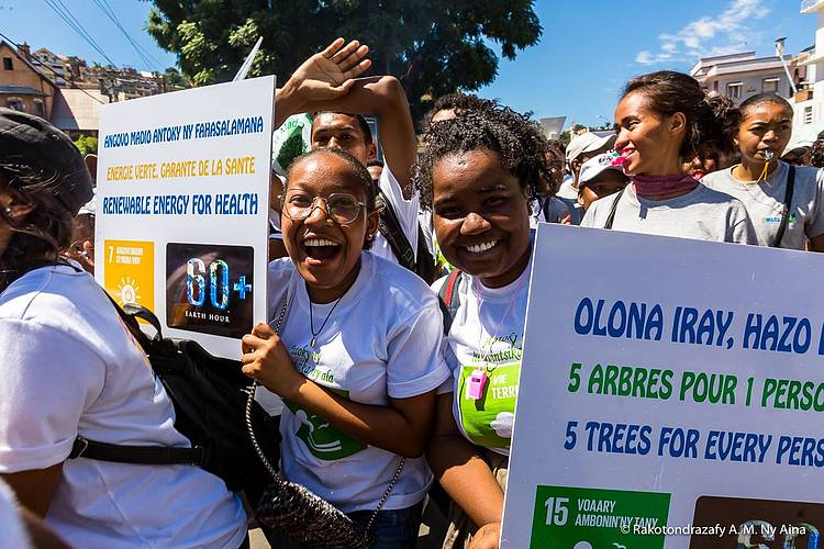 15000 Malagasy united for the forests.