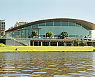 Adelaide Convention Centre from the River Torrens