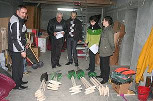 "Donation of forestry tools and equipment to ""Hayantar"" SNCO"