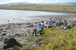 "Schoolchildren are cleaning ""Lake Arpi"" National Park area"
