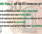 Sustainable finance: will the EU Commission get it right?