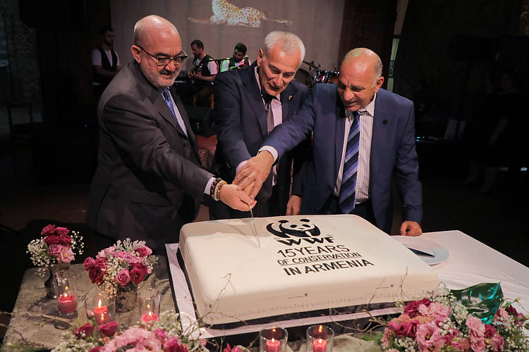 WWF Armenia celebrates its 15th anniversary