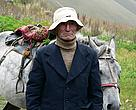 Z. Arabuli, head of a big Arabuli family in the Georgian village of Juta. Together with three other households will operate a summer eco-tourist base in the spectacular Kazbegi region of the  Greater Caucasus Corridor.