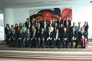 The 6th Trilateral Meeting participants from Brunei Darussalam, Indonesia and Malaysia