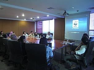 The School Trip Preparation Meeting at WWF-Indonesia Jakarta Office