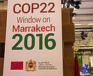 COP22 will be held in Marrakech, Morroco