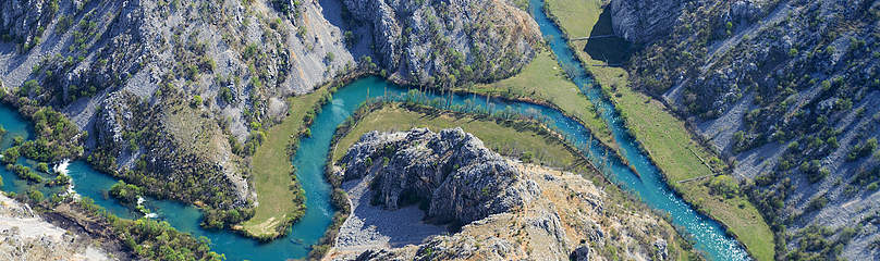 Confluence of Krupa and Zrmanja rivers, Croatia   	© Goran Šafarek