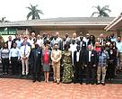 Participants at the Tuna workshop in Ghana