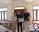 Membership certificate awarded to ADIS PTE., LTD - the 11th member of GFTN-Vietnam