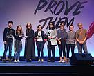 The WWF-Thailand team accepting the Adman Award.