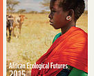 The cover page for the African Ecological Futures Report