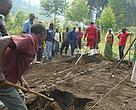 Preparation of soil for agroforestry