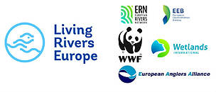 Living Rivers Europe coalition logos