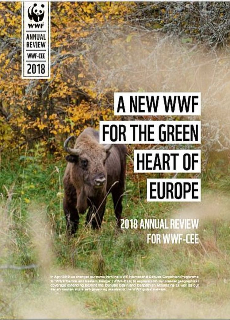 WWF-Central and Eastern Europe's Annual Review 2018 Now Available