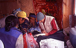 Working with local people in the Everest region to identify risks and opportunities relating to climate change impacts.