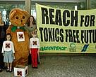 WWF joins environmental and consumer's groups to call for a toxics free future.<BR>