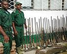 Guns transferred from field to wildlife office in South West Cameroon