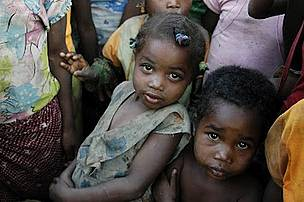 Beautiful children of madagascar
