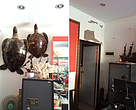 "The same store ""Before and after"" the latest drive against the marine turtle trade"