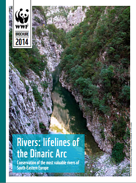 Rivers: lifelines of the Dinaric Arc   	© WWF