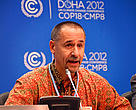 Bruce Cabarle at the COICA side event, UNFCCC-COP18.