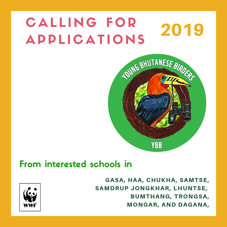 Young Bhutanese Birders Calling for Applications