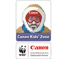 Visit the WWF-Canon Kid's Zone / ©: WWF / Canon