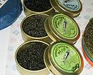 Caviar for sale in Istanbul, Turkey