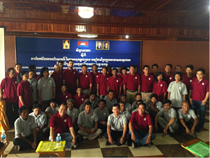 Participants in the Sharing Workshop of Ecosystem Based Adaptation to Climate Change in the Mekong River.