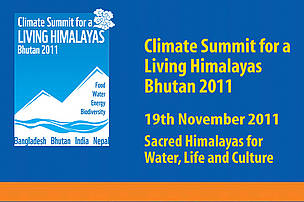 Climate Summit for a Living Himalayas Bhutan 2011