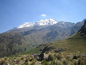 Iztaccihuatl mountain, Mexico.