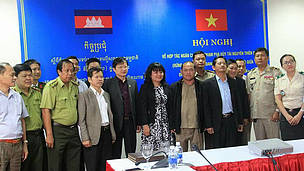 Cambodia and Vietnam Signs Trans-boundary Cooperation Agreement for Collaborative Conservation Efforts