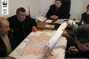 Mapping discussion in Khachik community