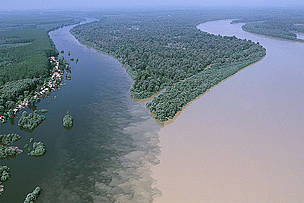 Confluence of the Danube and Drava Rivers. The commitment to protect this area would not be worth more than the paper it is written on if current plans are executed.